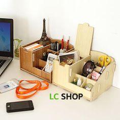 Wooden DIY Organizer from #YesStyle <3 Lazy Corner YesStyle.com.au