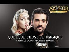 """Découvrez le nouveau clip de la Légende du Roi Arthur """"Quelque chose de magique"""", interprété par Florent Mothe et Camille Lou."""