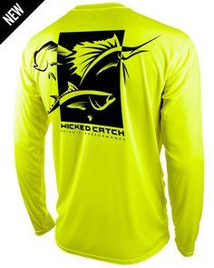 Pelagic Performance Fishing Shirts - Wicked Catch