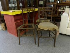 1x Stunning Dining Chairs ----- Great Project ------------------------ Was £5each Now £4 each (PC215)