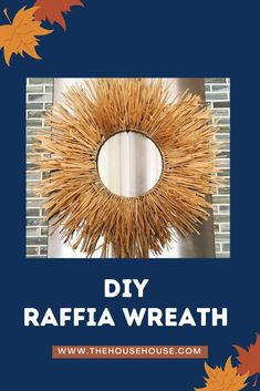 Check out the super easy process in making this fun and inexpensive Fall wreath.