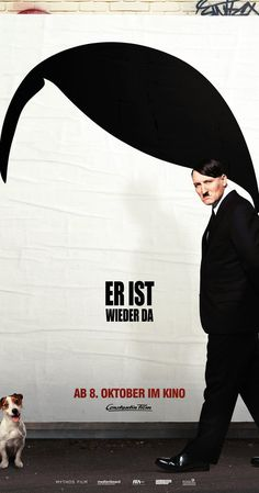 Directed by David Wnendt.  With Oliver Masucci, Fabian Busch, Christoph Maria Herbst, Katja Riemann. Adolf Hitler wakes up to find himself in the 21st century. From there he pursues a career as a standup comedian.