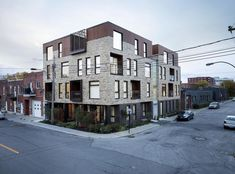 St-Zotique Residence,© Adrien Williams