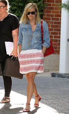 reese witherspoon summer style - Google Search