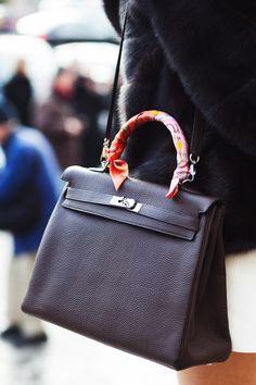 The Best Paris Fashion Week Bags, Hermes Kelly