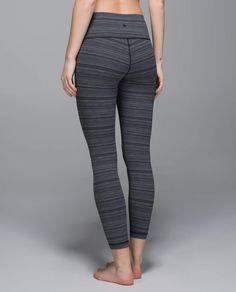 High Times Pant - Cyber Stripe Deep Coal Black - Size 8