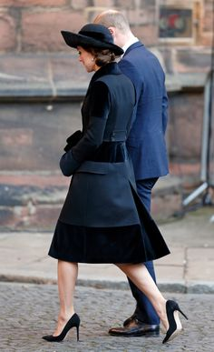 Here's How You Know Kate Middleton's Black Coat Is a Classic