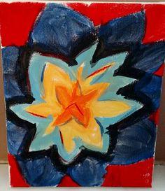 Canvas: acrylic