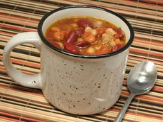 Spicy Three-Bean Chili | Ultimate Daniel Fast - Daniel Fast Recipes and Resources