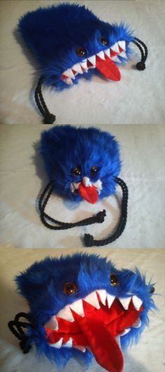 Blue Dicesquig by RawringPlushies on deviantART