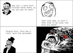 Funny Memes, Hilarious, Rage Comics, Smoking Weed, I Got You, Derp, Troll, Humor, Funny Stuff