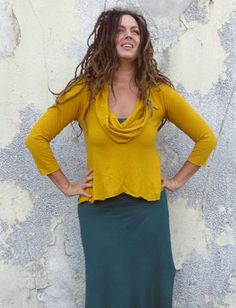 Gaia Conceptions - Gypsy Babydoll Cropped Shirt, $115.00 (http://www.gaiaconceptions.com/gypsy-babydoll-cropped-shirt/)