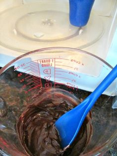 FINALLY - SECRET to melting chocolate in microwave! Never run and hide from a recipe that requires melted chocolate again!