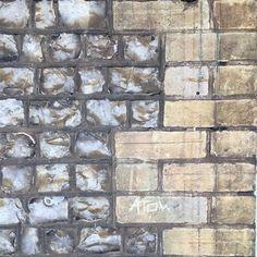 Co-ordinated knapped flint & buff bricks tasty wall! Victorian Architecture, Bricks, Tasty, Wall, Painting, Instagram, Brick, Painting Art, Walls