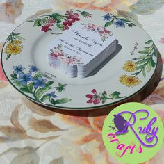 FLORAL WEDDING FAVOR TAGS Designed and sold by Ruby Crafts and Gifts Shop #rubycrafts #rubycraftsandgiftsshop #giftshop #floralweddingfavortag #weddingfavortags #gifttags #souvenirtags Wedding Favor Tags, Tag Design, Floral Wedding, Gift Tags, Decorative Plates, Tableware, Shop, Gifts, Things To Sell