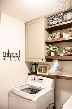 """Find out more relevant information on """"laundry room storage diy cabinets"""". Visit our web site. Laundry Room Cabinets, Basement Laundry, Small Laundry Rooms, Laundry Room Organization, Laundry Room Design, Diy Cabinets, Laundry Closet, Laundry Storage, Hidden Laundry"""