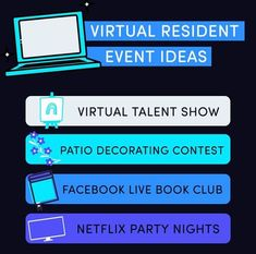 Having trouble thinking of virtual resident events? Although virtual events can be more difficult, resident events are still incredibly important to increase resident retention and satisfaction. Check out our blog for 25 virtual resident event ideas!