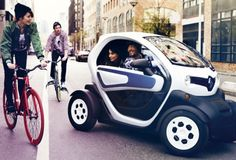 Renault Twizy - Futuristic electric car coming April 2012.