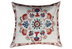 Uzbek Sham w/ Floral  Design