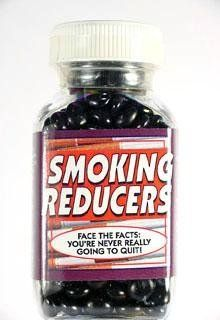 Smoking Reducers candy pills by Kalan. $7.99. Smoking Reducers candy pills. Candy Pills for Virtually all Ailments. Candy Pills Fix all your Problems Great Gags Gifts for any Party, Friend or Event.