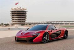 McLaren on track in Bahrain! Well, sort of Mclaren P1, Fast Sports Cars, Sport Cars, Super Fast Cars, Top Cars, Latest Cars, Car Videos, Sexy Cars, Amazing Cars