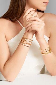 7b6348e0bab T Square 18-karat rose gold bracelet