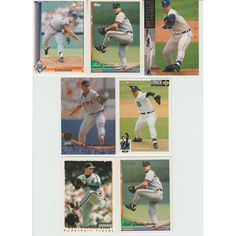 Huge 35 + Different BILL GULLICKSON cards lot 1981 - 1995 Expos Yankees Tigers