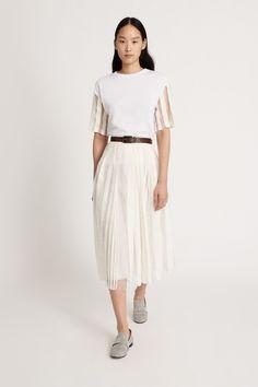 Fabiana Filippi Damen Tüllrock Natur Weiss | SAILERstyle Lace Skirt, Midi Skirt, Pullover, Tulle, Skirts, Products, Fashion, Ponchos, Italian Designers