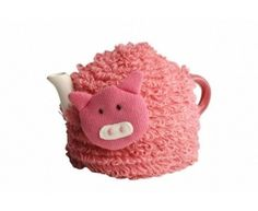 Peter Pig Tea Cozy by Cooking Marvellous. $17.99. Made from 100% knitted acrylic it will snuggly fit around your teapot.. This knitted Peter Pig tea cozy will keep your tea warmer for longer.  Made from 100% knitted acrylic it will snuggly fit around your teapot.  ?Handwash Only