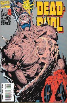 Deadpool # 4 Marvel Comics Vol 1