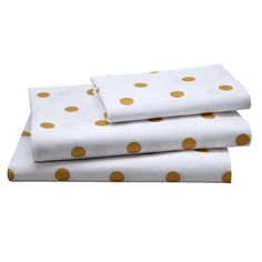 Gold Dot Sheet Set (Twin)
