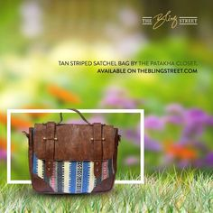#TGIF - From shopping to picnics, from movies to a weekend getaways - this versatile bag is perfect for every plan you have over the weekend.  Get the bag by Pataka Closet now: http://www.theblingstreet.com/designer/The-Patakha-Closet #deisgenrbag #designersatchel #satchelbag #weekendplans #weekendbag