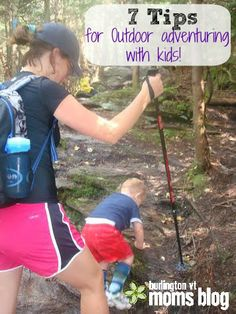 Tips and Tricks for Outdoor Adventuring with Kids! #camping #hiking #kids
