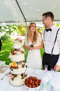 Somrigt lantbröllop: Josefin och Karl — Bröllopsblogg | Sisters in Law