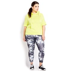 96b88e55454 8 Stylin  Plus-Size Fitness Brands via Brit + Co. Running Leggings