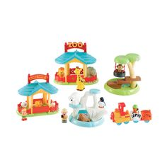 Shop Happyland Zoo at Early Learning Centre. Free delivery over + free 30 minute click & collect. Learning Centers, Early Learning, Imagination Toys, Thomas Birthday, Pet Corner, In The Tree, Toys Shop, Imaginative Play, Toddler Toys