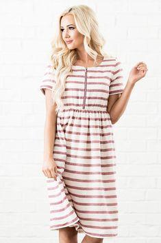 f9809693 Ryan Dress – Sorella Bella - modest dresses for LDS Sister missionaries  Nursing Clothes, Nursing