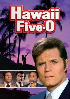 Hawaii Five-O Poster Standup 4inx6in