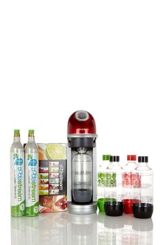 SodaStream MegaFizz Home Red Soda Maker Bundle 72% off ($79) on HauteLook