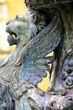 Lion ~ Venetian fountain