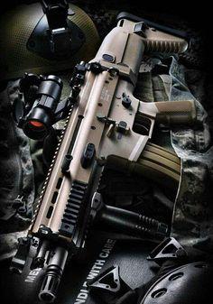 SCAR, guns, weapons, self defense, protection, 2nd amendment, America, firearms, munitions #guns #weapons
