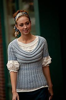Scoop Pullover pattern by Cathy Carron