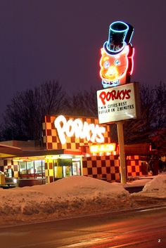Porkys Drive In - St. Paul, Mn - Building has been demolished ...