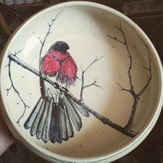 Luster firing was great really love this bowl...too.   by muddypawspottery