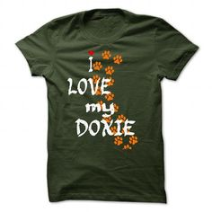Limited Edition I love my Doxie - #gift for friends #photo gift. LOWEST PRICE => https://www.sunfrog.com/Pets/Limited-Edition-I-love-my-Doxie-Forest-24326356-Guys.html?68278