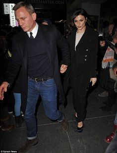 Date night with Mr Bond! Daniel Craig and Rachel Weisz attended the opening night of Cat On A Hot Tin Roof in New York on Thursday night