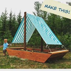 """Ana White on Instagram: """"Sun sand and sailboats .... this is adorable!...sand box idea?"""