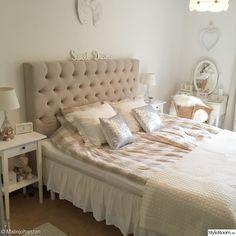 sänggavel,lantligt,sovrum,säng,shabby chic
