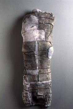 Stephen De Staebler  Wall Torso II, 1983, Fired Clay, 29 x 9 x 5 in.