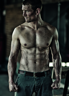 Philip Winchester - The more I watch Strike Back, the more attractive he becomes.